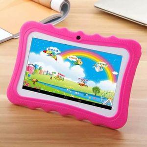 TABLETTE TACTILE Rose fonce 7  Tablette Tactile pour Enfant