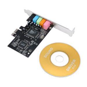 CARTE SON INTERNE JEC PCI Express x1 PCI-E 5.1ch CMI8738 Chipset Aud