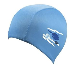 BONNET PISCINE- CAGOULE Beco bonnet de bain sealife junior tissu bleu tail