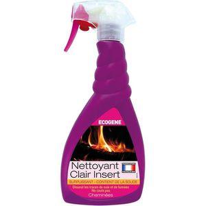 NETTOYAGE VITRES Nettoyant Clair'Inserts pour cheminée - 500 mL