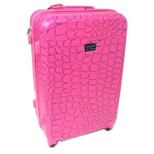 VALISE - BAGAGE Valise trolley ABS 'Lollipops' rose - 60x41x25 cm