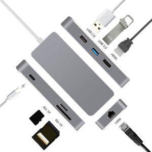 HUB USB C Hub pour MacBook Pro, USB-C vers HDMI 4K, US