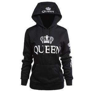 ongbia King Queen Ensemble pull /à capuche pour couple