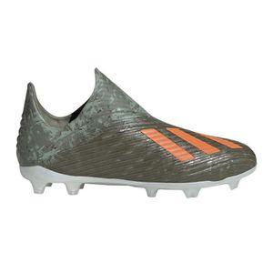 Chaussures Football Adidas X+ Fg Vert Junior