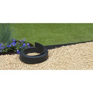 Bordure de jardin achat vente quipement bordure de for Separation herbe cailloux