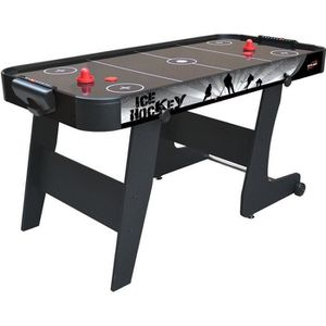 AIR HOCKEY Table Air Hockey Noir Black City - DevesSport