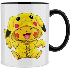 BOL Mug Noir Pokémon parodique Pikachu Cosplayé en...