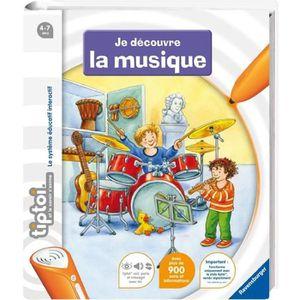 LIVRE INTERACTIF ENFANT TIPTOI Livre Interactif Je découvre La Musique