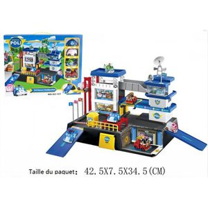 str figurine v hicules robocar poli jouet lot de 4 commissariat de police achat vente. Black Bedroom Furniture Sets. Home Design Ideas