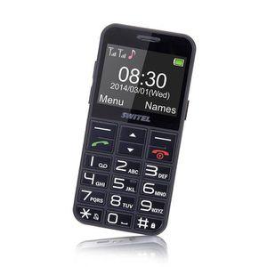MOBILE SENIOR Téléphone sénior mobile M190 SWITEL Quad-bande - S