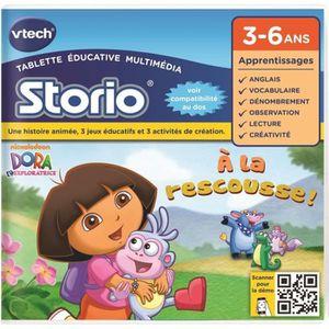 JEU CONSOLE ÉDUCATIVE VTECH - Jeu Éducatif Storio - Dora L'Exploratrice