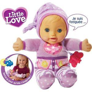POUPON VTECH Poupée LITTLE LOVE - Mon Bébé à Bercer