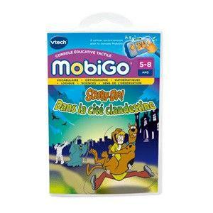 JEU CONSOLE ÉDUCATIVE VTECH Jeu Mobigo Scooby Doo