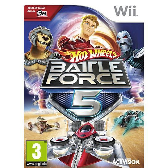 JEUX WII HOT WHEELS BATTLE FORCE 5 / Jeu console Wii