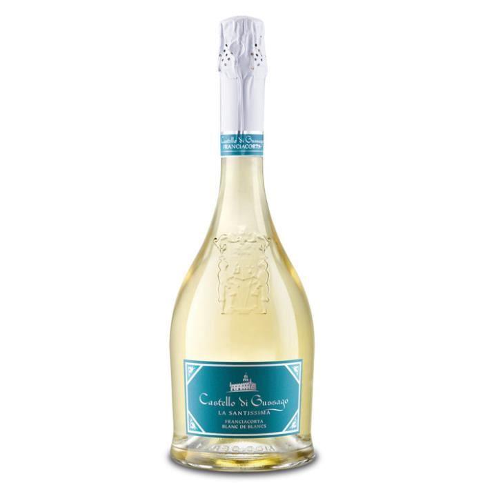 Franciacorta DOCG Blanc de Blancs Castello di Gussago 1 bouteille 75 cl.