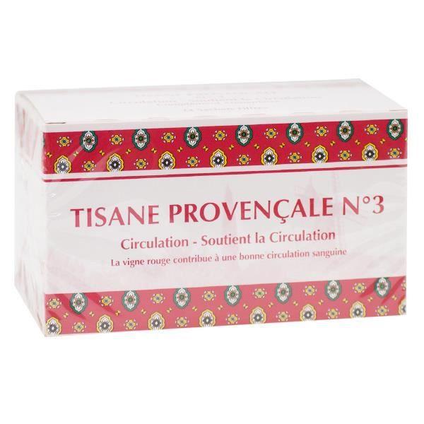 Tisane Provençale Circulation n°3 20 sachets