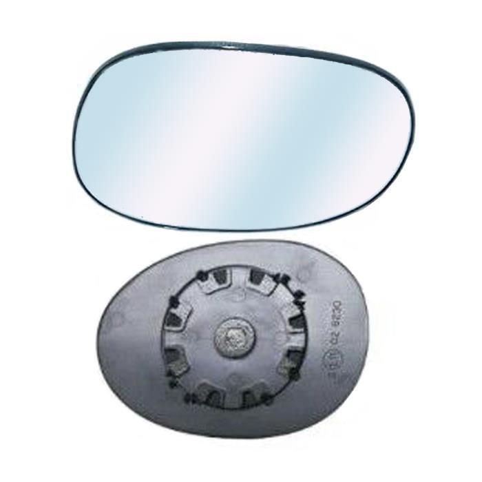 Miroir Glace Dégivrant Rétroviseur droit pour PEUGEOT 206+ de 2009 à 2013