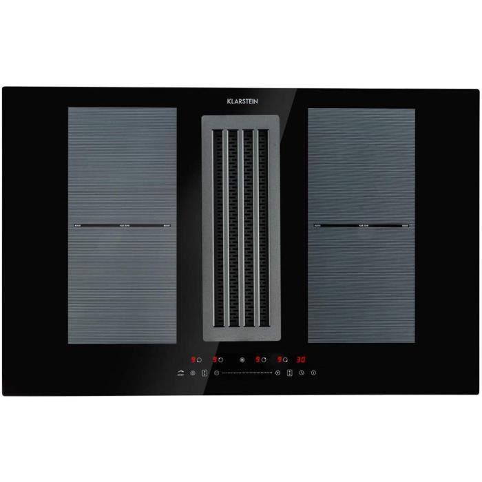 Table de cuisson Full House DownAir Plaque de cuisson &agrave induction avec hotte aspirante, Hotte aspirante, Encastrable, 77cm61