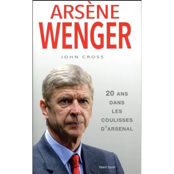 Livre - Arsène Wenger 20 ans