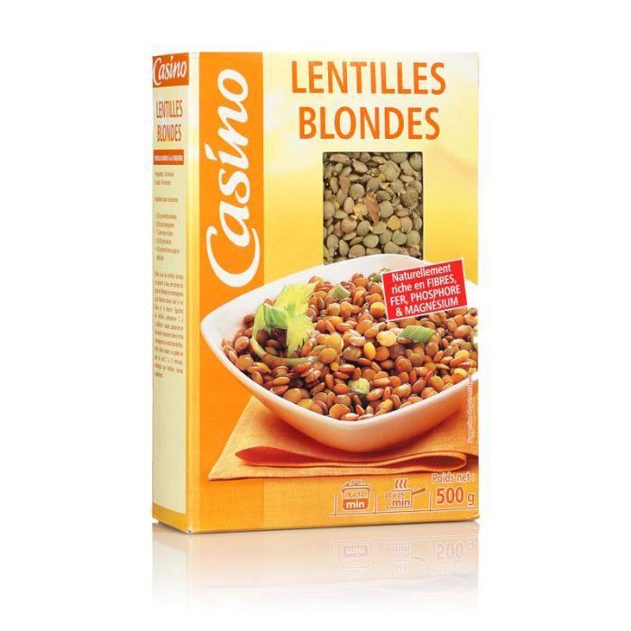 Lentille blonde - 500 g