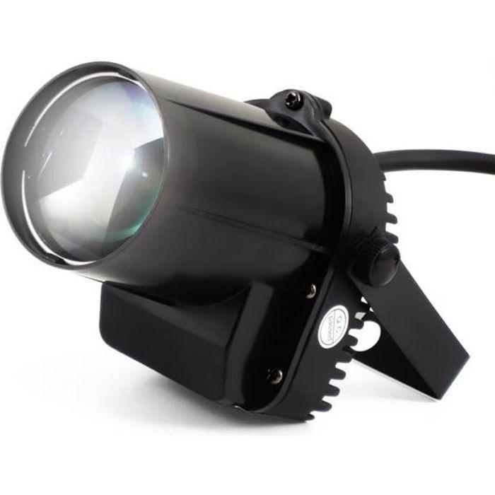 Mini projecteur - jeu de lumière ou décoration - à Led 5W CREE Blanche