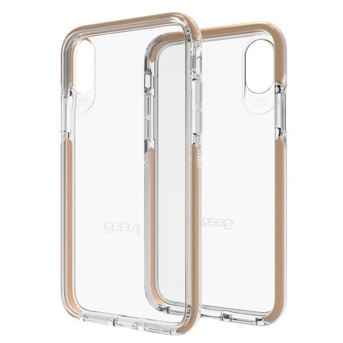 Coque Piccadilly Gold pour iPhone X