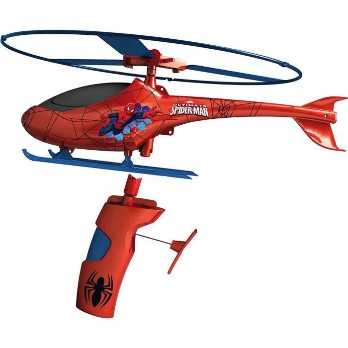 Hélicoptère de sauvetage Spiderman