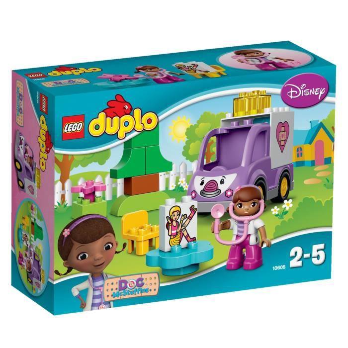 LEGO® DUPLO 10605 Rosie l'Ambulance de Docteur La Peluche