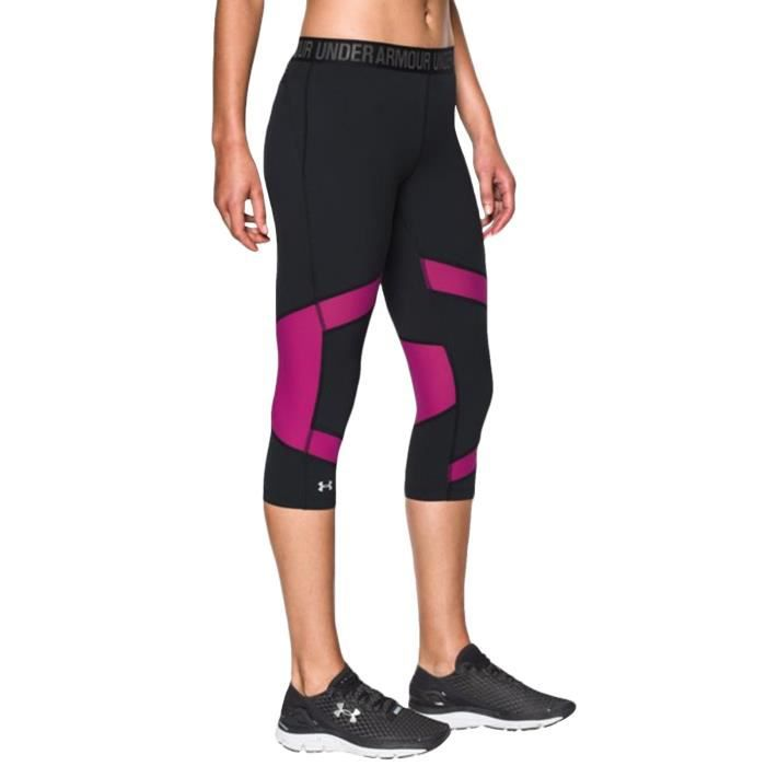 Under Armour - Pantacourt de sport UA CoolSwitch - femme - style legging - 38 cm