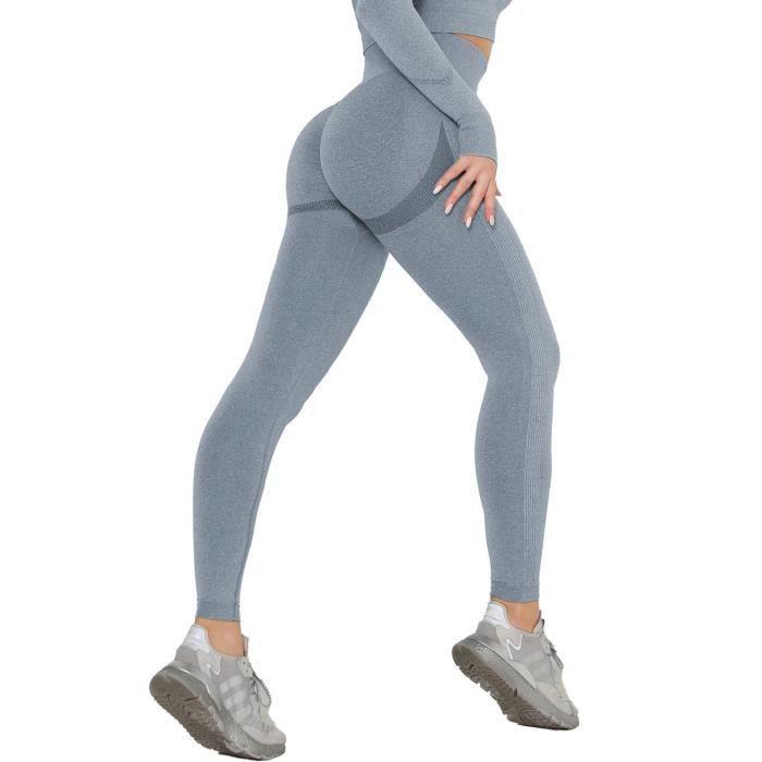Push Up Short Sport Femme Legging Court Yoga Pants Court Course à Pied pour Yoga Fitness et Exercice Running Jogging Élastique