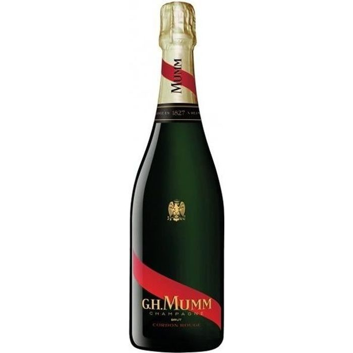 6x Mumm Cordon Rouge Etui - Champagne