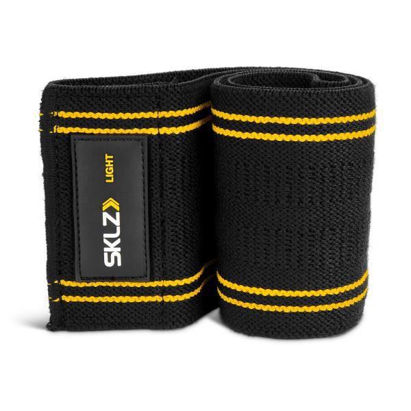 Bande de résistance élastique en tissus antidérapant Pro Knit Hip Band SKLZ, force Légère, 13,60 kg