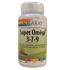 Super Oméga-3-7-9 + Vit. D3 - 60 softgels