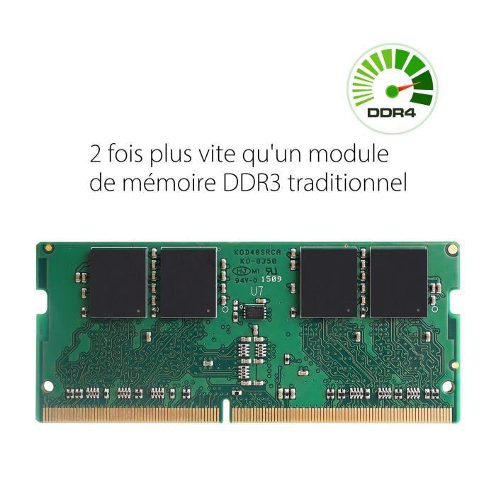 Mémoire Pc Ddr4 Sdram 8Go (1G x 8 Sr) 2133 Mhz Cl 15, Silicon Power
