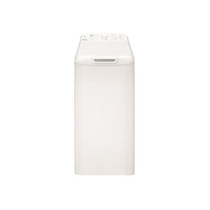 Vedette - lave-linge top 40cm 6.5kg 1200t a+++ blanc - vt652b