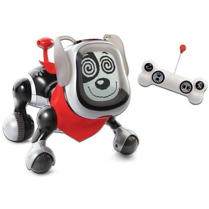 VTECH - Kididoggy noir - chien robot interactif