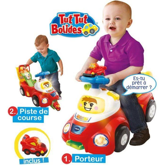 VTECH Baby Mon Porteur Tut Tut 2 en 1