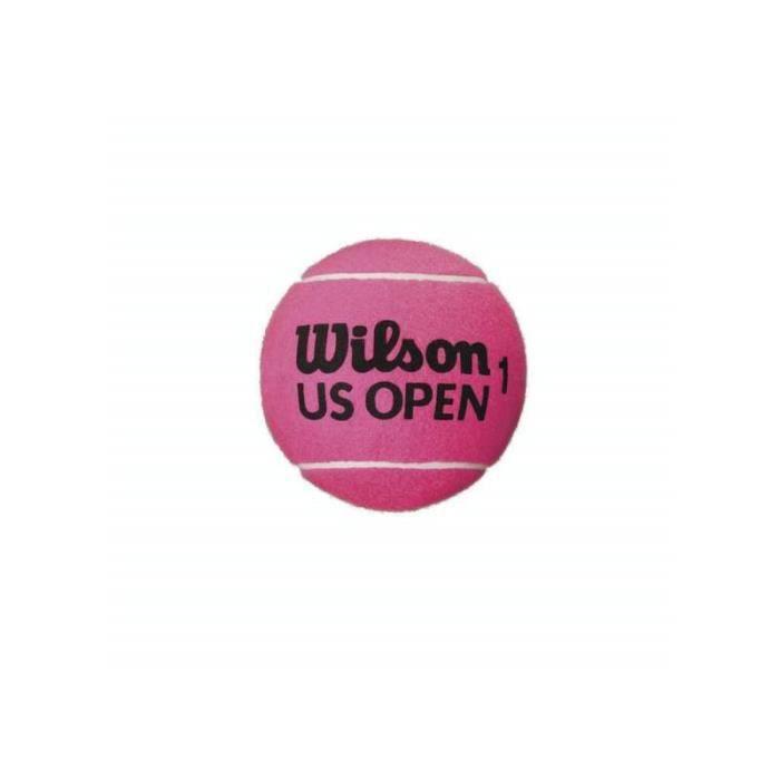 Balle Wilson US Open 5- mini jumbo - rose fluo - TU