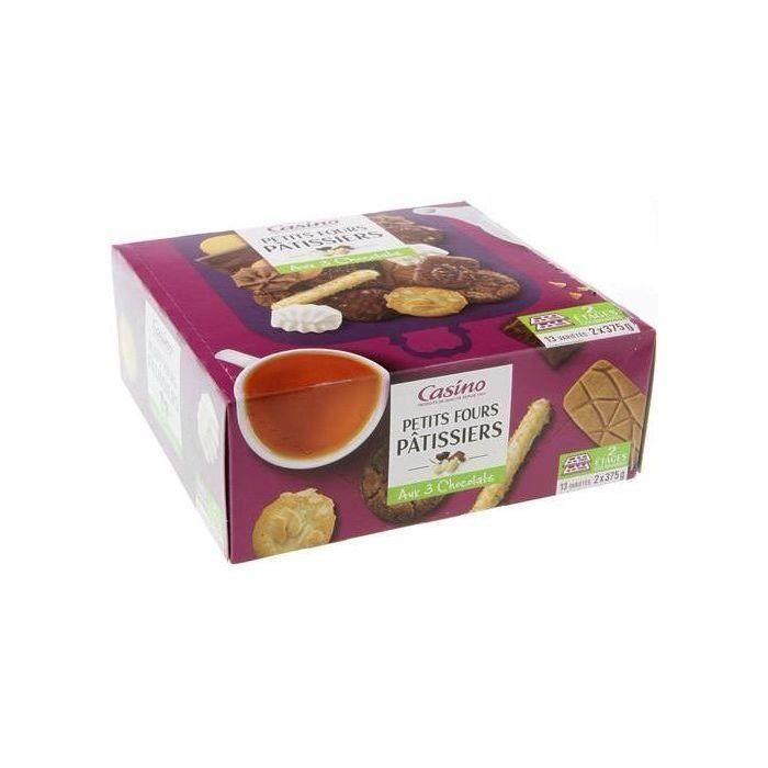 Biscuits Assortiment petits fours pâtissiers - 13 variétés - 750 g
