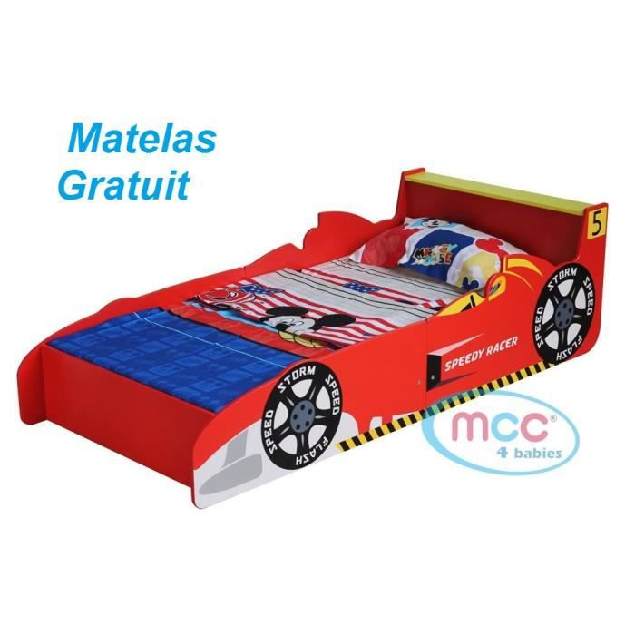 lit rouge voiture de course formule 1 pour jeunes enfants gar ons achat vente lit. Black Bedroom Furniture Sets. Home Design Ideas