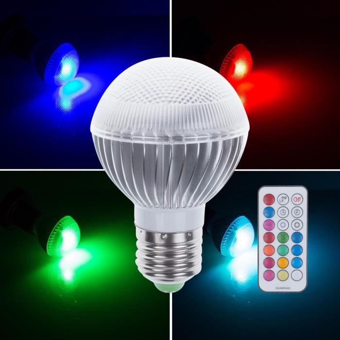 multi color 3w e27 rgb ampoule ampoule led flash light. Black Bedroom Furniture Sets. Home Design Ideas