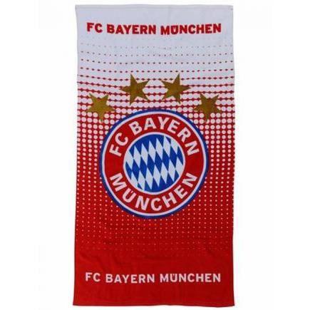 FC Bayern Munich Serviette de plage 150 cm x 75 cm