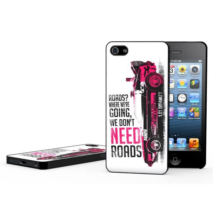 Coque iPhone 5/5S Back To The Future-Modèle 1