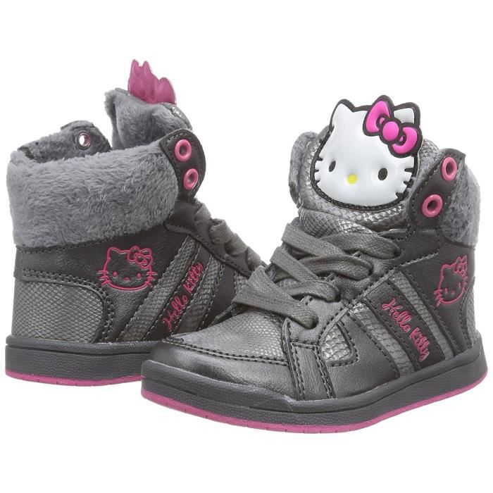 Hello Kitty baskets - gris - fille