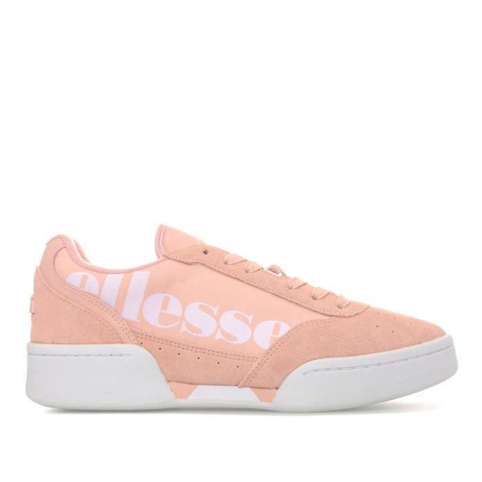 BASKET Ellesse Baskets Piacentin Rose Femme