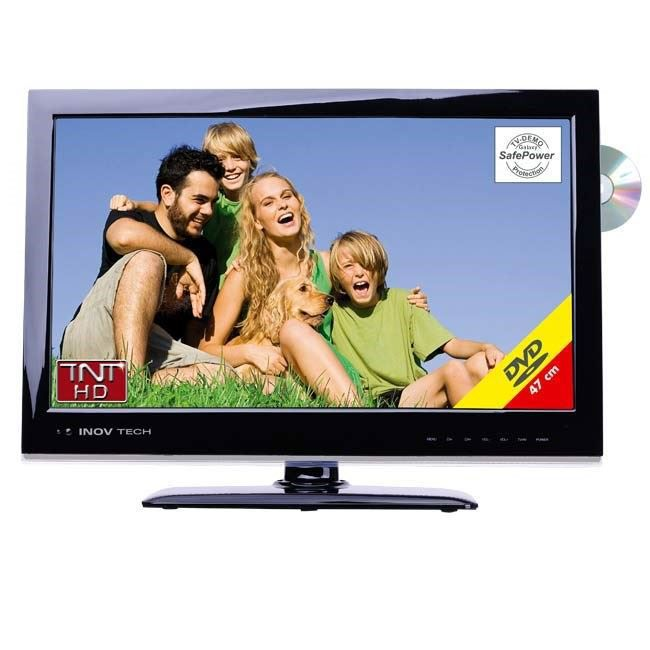tv led hd 19 pouces avec dvd achat vente t l viseur. Black Bedroom Furniture Sets. Home Design Ideas