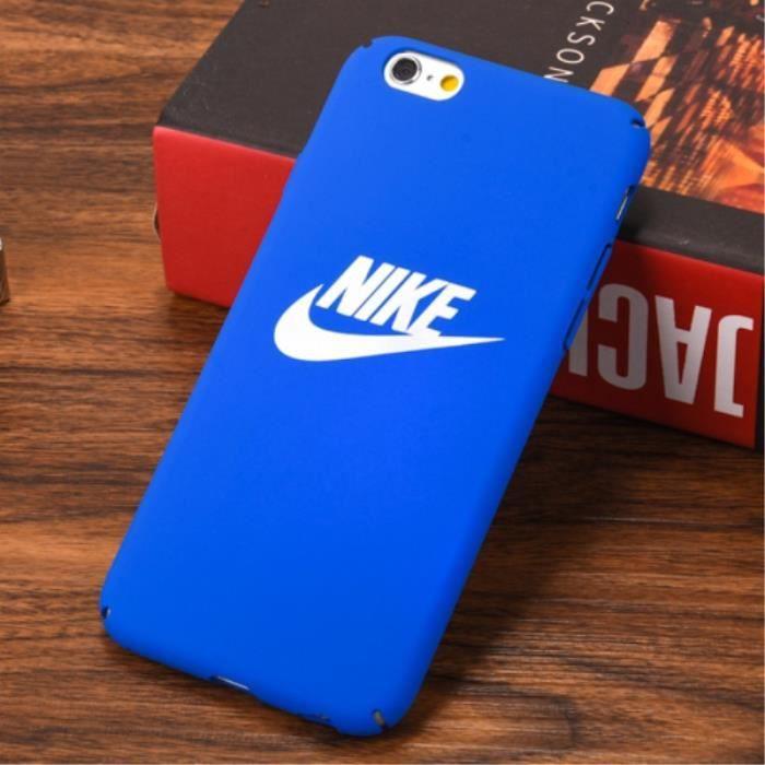 nike coque iphone 6 6s bleu logo