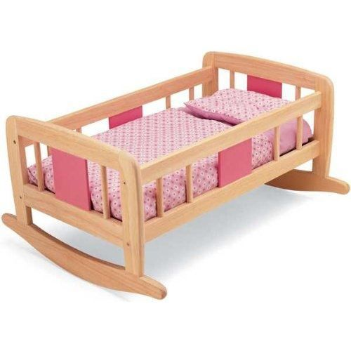 pintoy lit bascule pour poup e achat vente accessoire poupon cdiscount. Black Bedroom Furniture Sets. Home Design Ideas