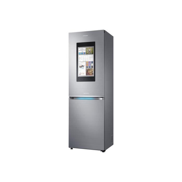 Photo de samsung-family-hub-rb38m7998s4-refrigerateur-congelateur-pose-libre-wifi