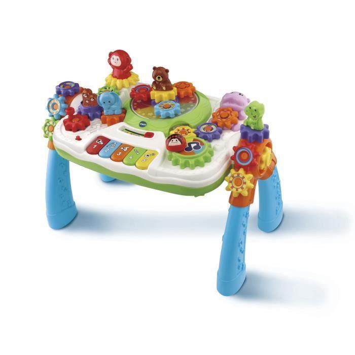 TABLE JOUET D'ACTIVITÉ VTECH BABY - Zooz - Centre Multi-Activités - Table